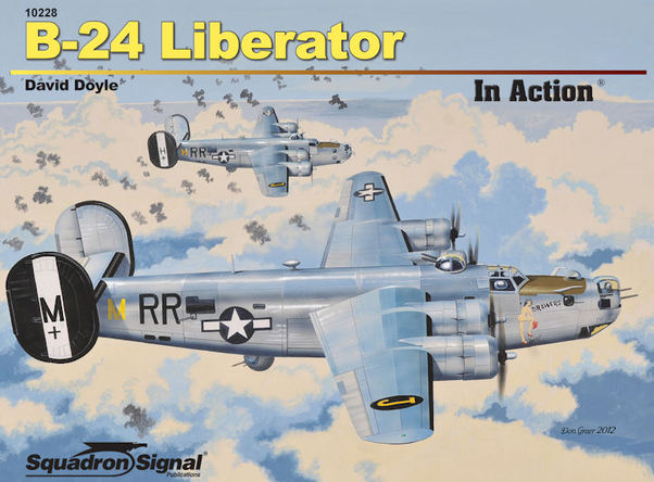 B24 Liberator in Action (REISSUE)  9780897476645