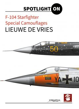 F104 Starfighter Special camouflages  9788363678586