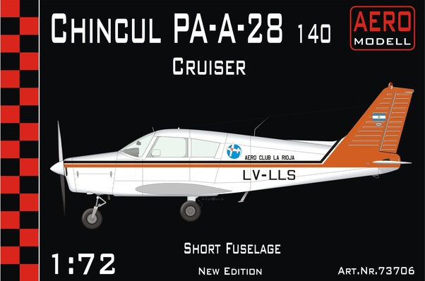 Chincul Pa-A-28-140 Cruiser  -REVISED KIT-  01-73706