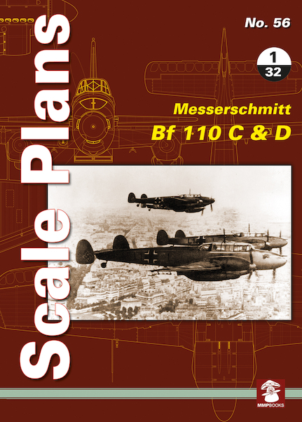 Scale Plans: Messerschmitt BF110C and D  9788365958136
