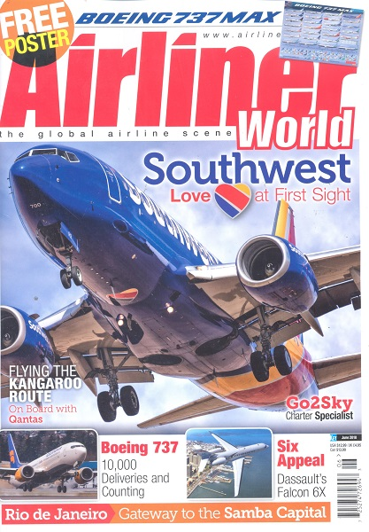 Airliner World June 2018  072527472694306