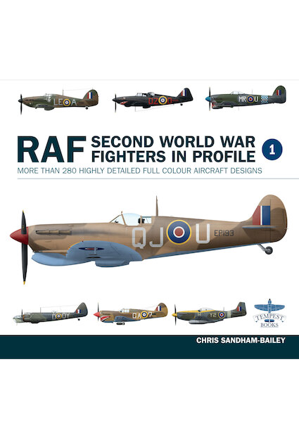 RAF Second World War Fighters in Profile  (expected December 2019)  9781911658061