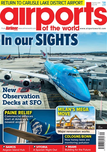 Airports of the world September/October 2019 issue 85  002907407707785