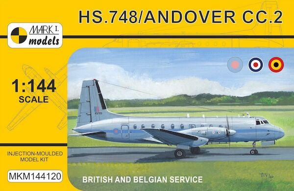 Hawker Siddely HS748/Andover Military 'Europe' (RAF, RAE, Belgian AF)  MKM144120