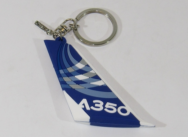A350 Tail Keyring  0364
