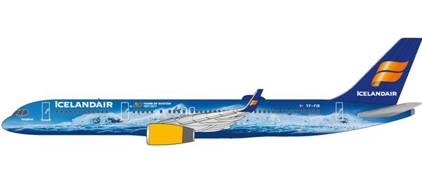 b757 200 icelandair vatnajökull tf fir 80 years of aviation
