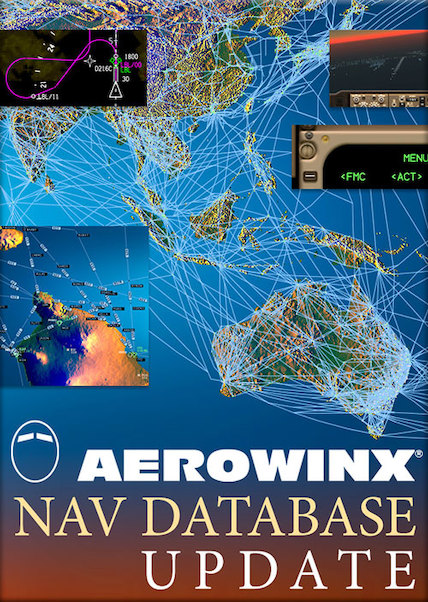 Aerowinx Nav Database Update 2019 (download version) (Aerowinx PSX NAV-2019)