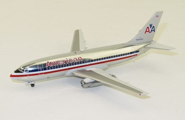 B737-200 (American Airlines) N466AC Polished With Stand  IF732AA0419P