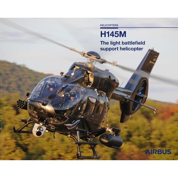 Airbus H145M helicopter poster  H145M