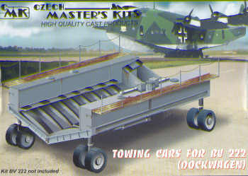 Towing Cart for BV222 (Dockwagen)  CMKA7088