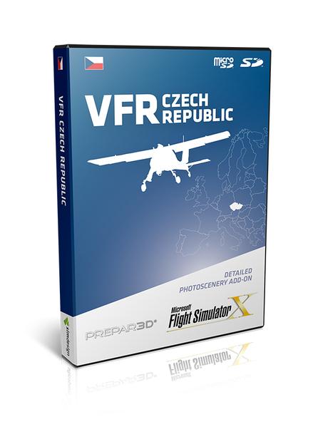 VFR Czech Republic - Photo scenery - Download version (FSX and P3D)  (Simdesign 5905669405010-D)