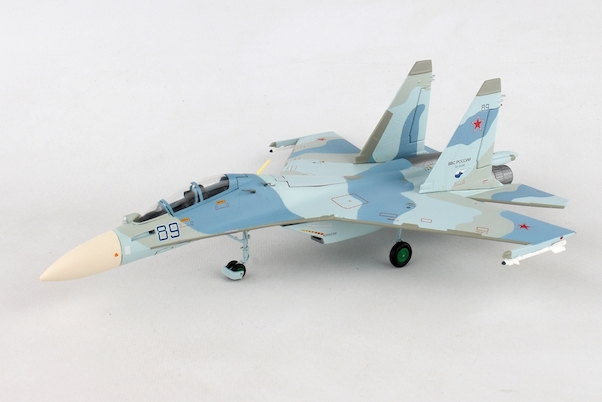 Sukhoi SU30M2 Russian Air Force, 27th Mixed Aviation Division - 38th Fighter Regiment, Belbek AB - RF-95072 / 89 blue  580311