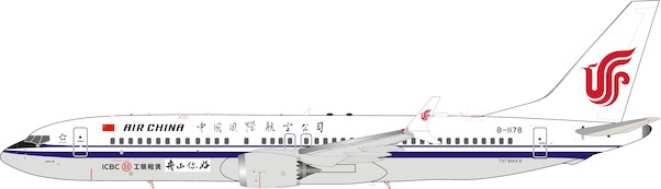 B737-8MAX (Air China) B-1178 With Stand  IF737MAXCA001