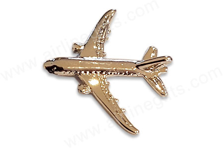 Boeing 787 silver pin  PIN787 Silver