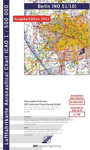 ICAO chart Germany Berlin 2021 - AviationMegastore.com
