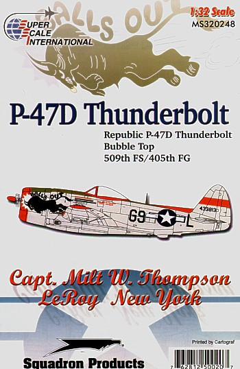 32-248 Republic P47D Thunderbolt Bubbletop (509th FG)  32-248