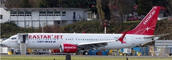 B737-8MAX (Eastar Jet) HL8341 With Antenna  XX4098