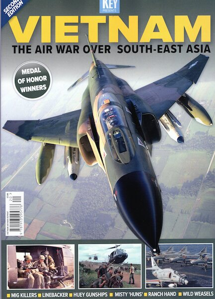 Vietnam - the Air War over South East Asia reprint: second edition  978191329577620