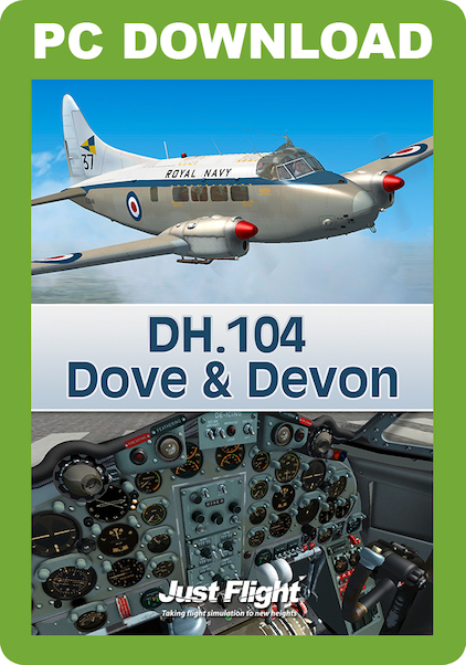 DH.104 Dove & Devon (download version)  J3F000158-D