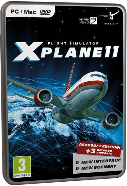XPlane11 (Box Version)  4015918139007