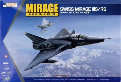 Mirage IIIR/RS (Switserland)  K-48058