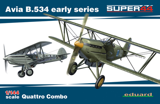 Avia B534 early series quattro combo (4 kits included)  4451