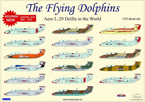 The Flying Dolphins, Aero L29 Delfin in the world  ACD72017