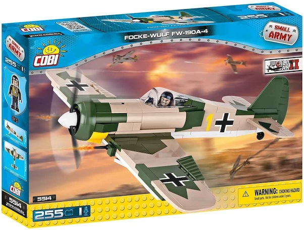 Focke Wulf FW190  245 pieces  5514