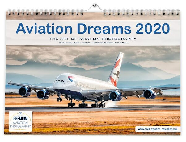 Aviation Dreams Calendar 2020  4280000957313