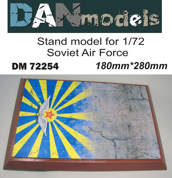 Stand model Soviet Air Force 160mm x 240mm  DM72254