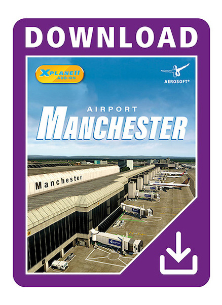 Airport Manchester XP (Download Version for Xplane11)  14609-D