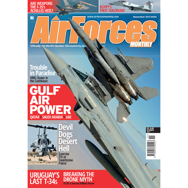 Air Forces Monthly November 2017  977095570929711