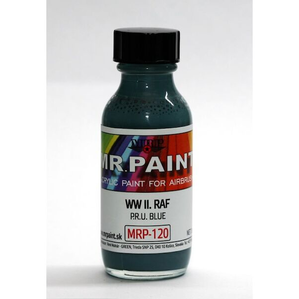 PRU Blue WWII RAF (30ml Bottle)  MRP-120