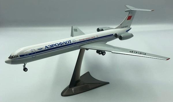 Ilyushin IL62 Aeroflot CCCP-86500 Official Olympic Carrier (1980)