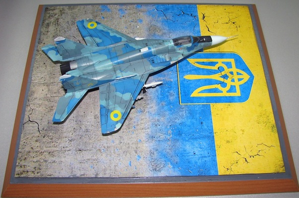 Stand model Ukraine Air Force 180mm x 280mm  DM72251