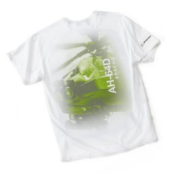 AH-64D Profile T-shirt X-Large  110010010644-XL