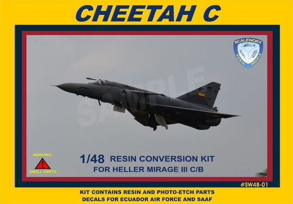 Atlas Cheetah C Conversion (Heller)  sw48-01
