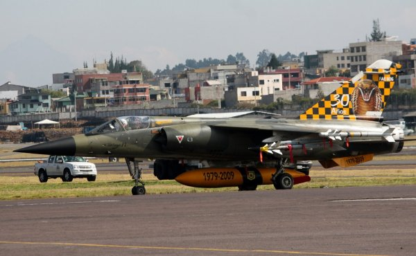 Mirage F1JA (30 Años 1979-2009 Ecuadorian Air Force) REPRINT  72-060