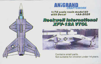 Rockwell XFV12A  AA-2026