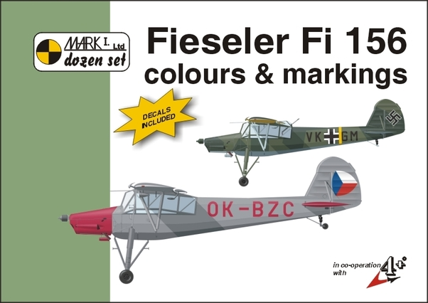 Fieseler Fi156 Storch Colours & Markings + decals  MKD48004