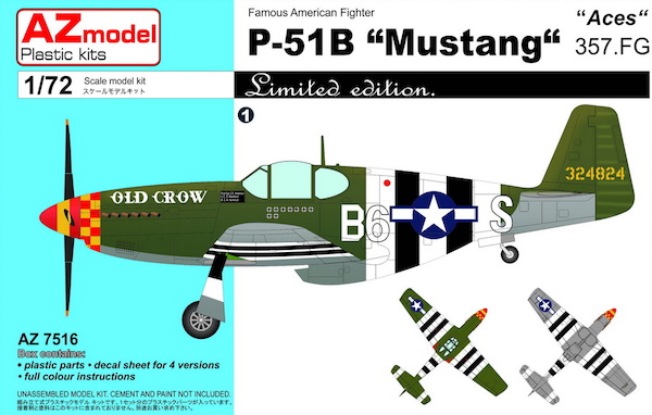 P51B Mustang '357FG Aces
