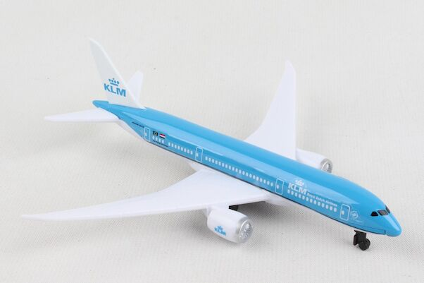 Single Plane for Airport Playset Boeing 787 KLM  RT2384