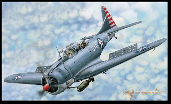 Douglas SBD-3/4 Dauntless  61801