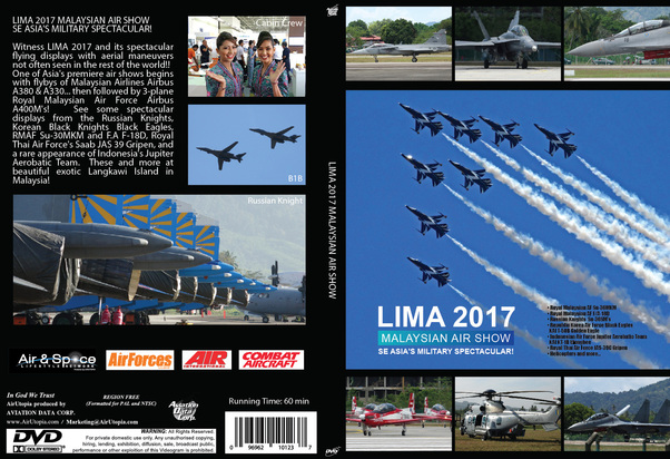 LIMA AIRSHOW Malaysia 'Southeast Asia Military Spectacular'  0096962101237