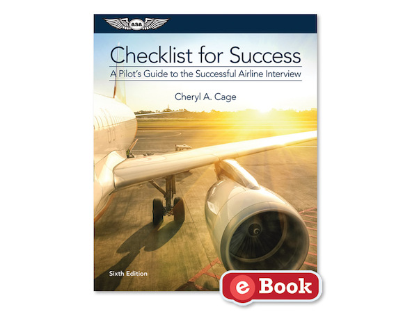 Checklist for succes, a Pilots Guide to the Succesful Airline Interview  9781619543300
