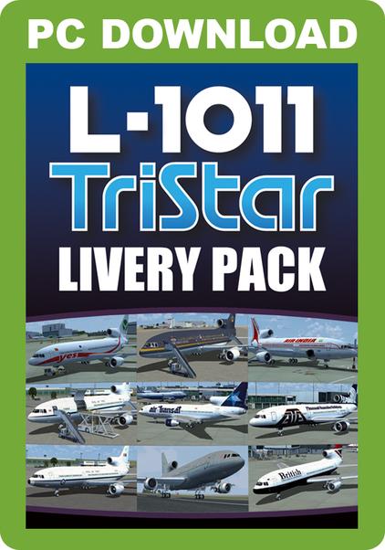 L-1011 TriStar Livery Pack (download version FSX) (Just Flight J3F000106-D)