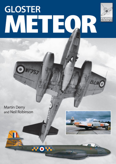 The Gloster Meteor in British Service (expected March 2018)  9781526702661
