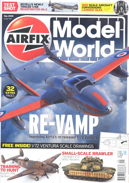 Airfix Model World Issue 94 Sep 2018  072527486666309