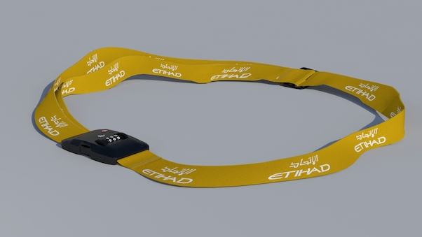 Luggage strap with TSA lock - Etihad  LUG-ETI