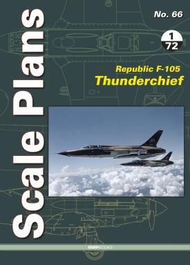 Scale Plans: Republic F105 Thunderchief  9788366549173